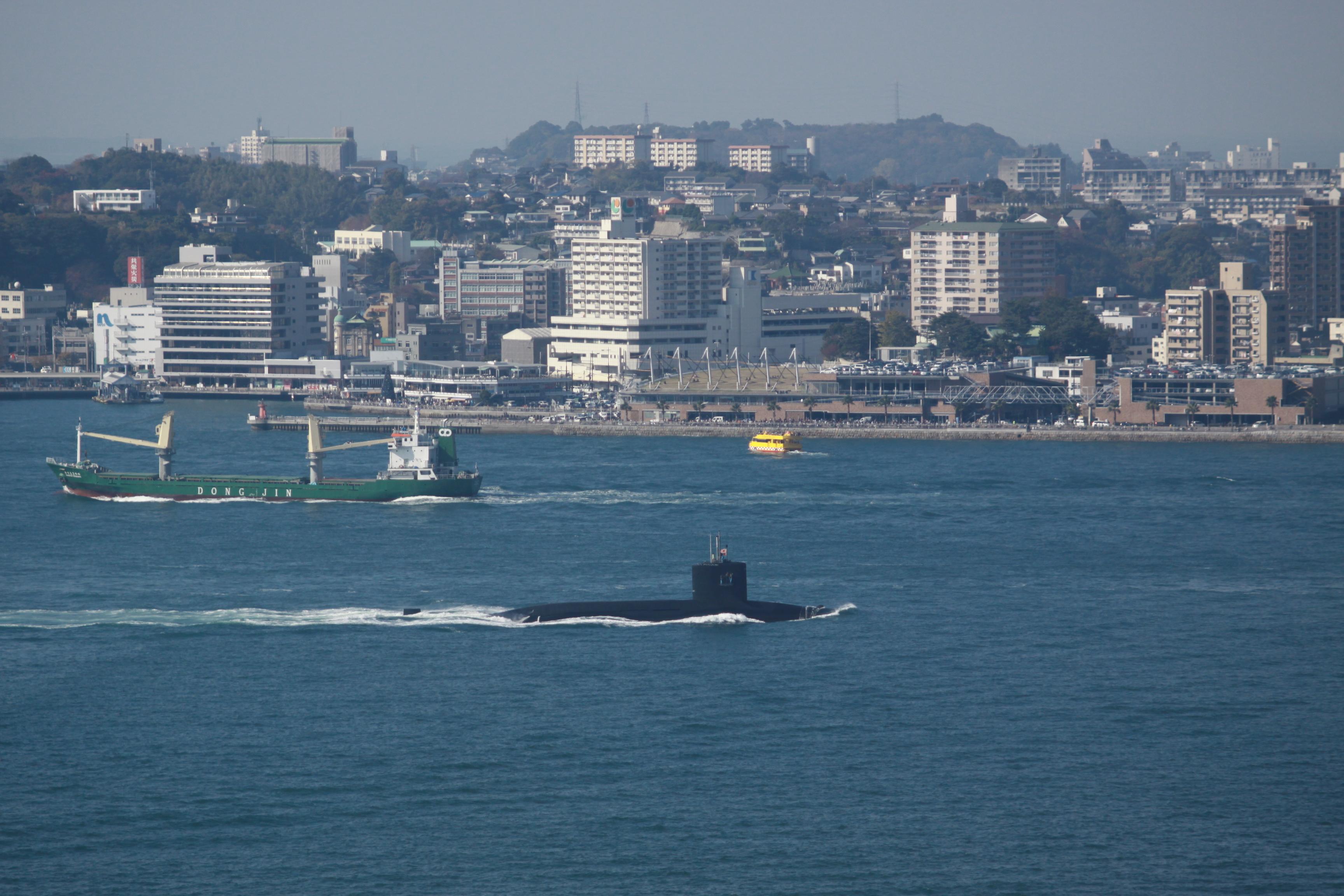関門海峡でときどき見られます 常設展示室 北九州市 時と風の博物館